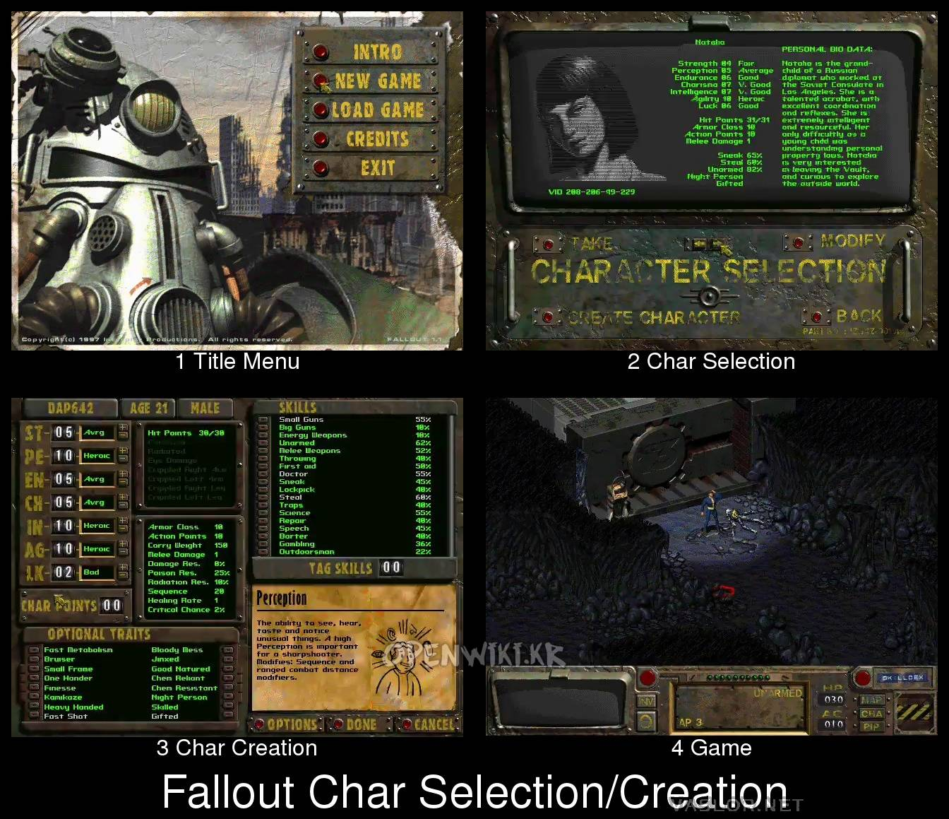 Character Builds Fallout