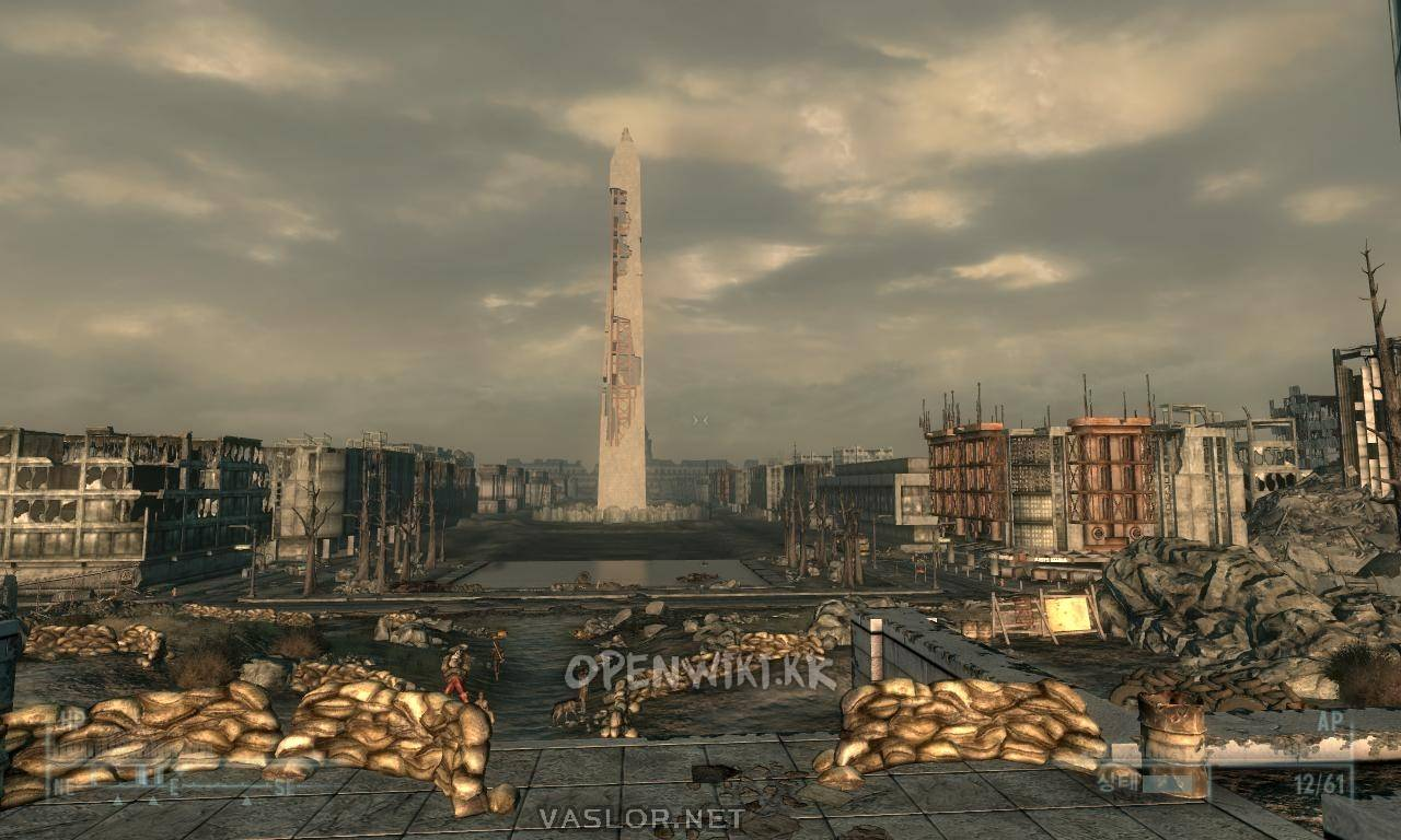 fallout 3 how to get to washington monument